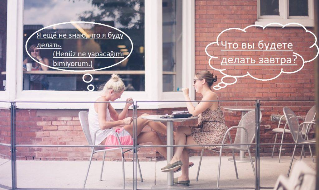 Rusçada Gelecek Zaman