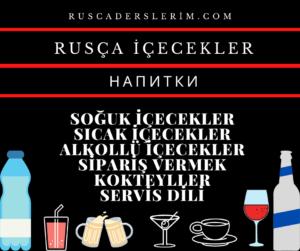 Rusça İçecekler